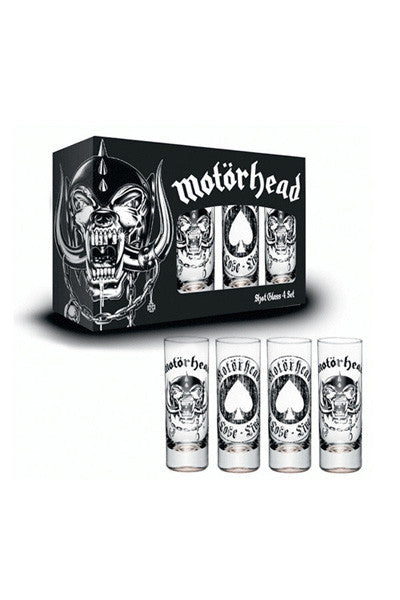 4 Piece Shot Glass Set