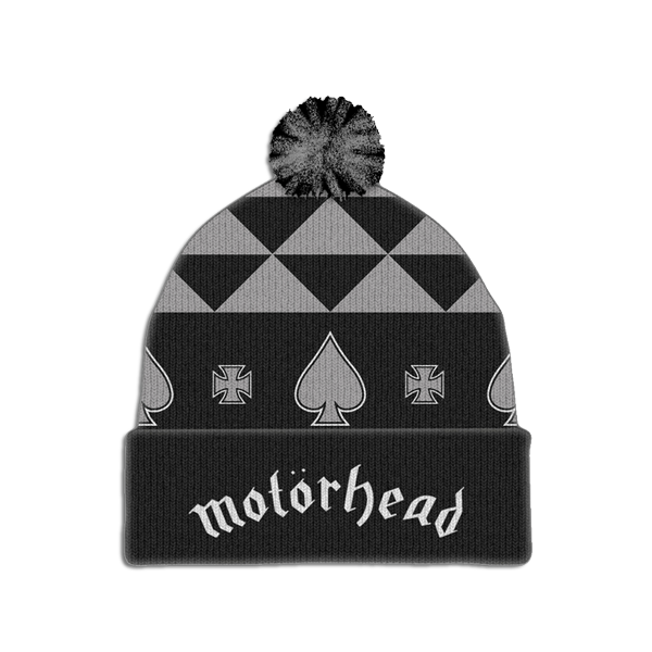 MOTORHEAD BOBBLE HAT