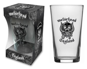 England Beer Glass