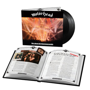 No Sleep 'Til Hammersmith 3LP Bookpack