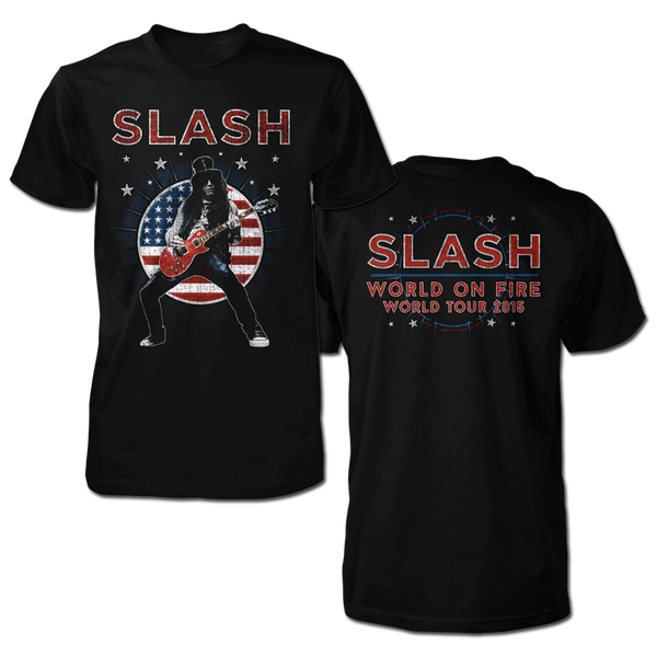 USA FLAG MENS 2015 TOUR TEE-X-Large