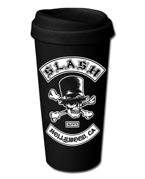BIKER PATCH CERAMIC TRAVEL MUG