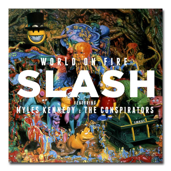 WORLD ON FIRE CD