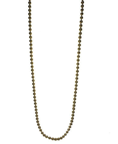10K Yellow Gold Ball Chain 17.47 Grams