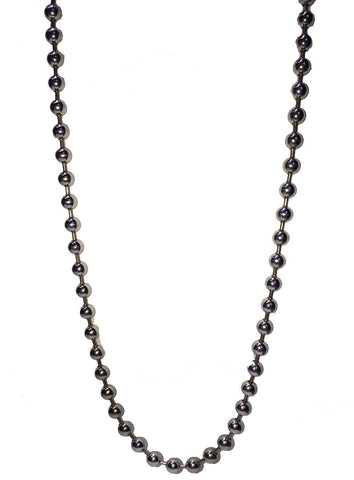 White Gold Ball Chain 42 Grams 10K
