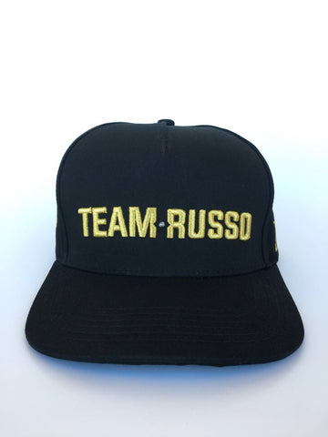 EL RUSSO HAT BLACK/GOLD