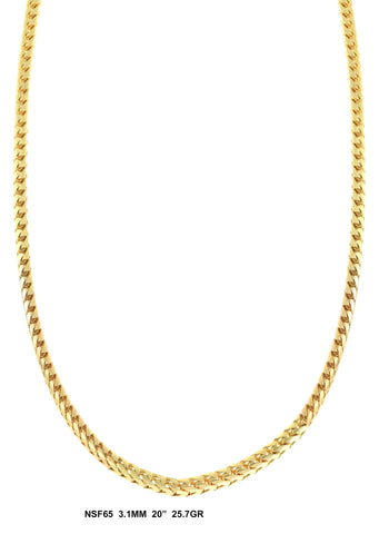 male brand cuban hiphop thick gold color chain link glod necklace chains men