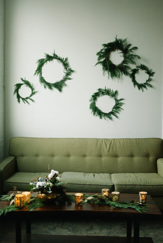 indoor wall wreath gallery