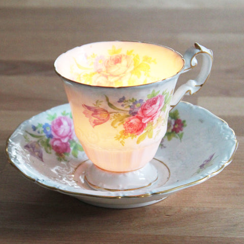 vintage teacup candle giveaway