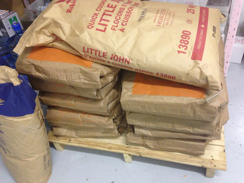 oat flour for milk bath production