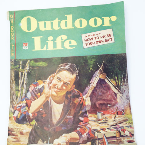 vintage Outdoor Life magazine cover