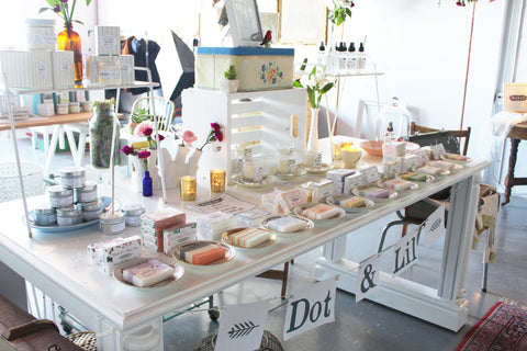 Dot & Lil showroom