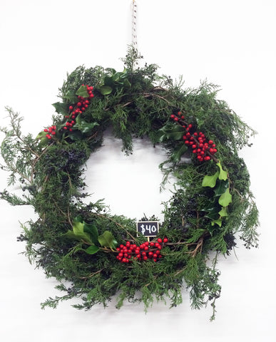 Dot & Lil holiday wreath
