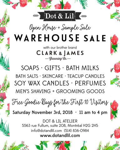 Dot & Lil warehouse sale