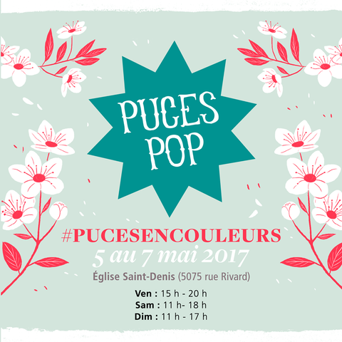 puces pop printemps 2017