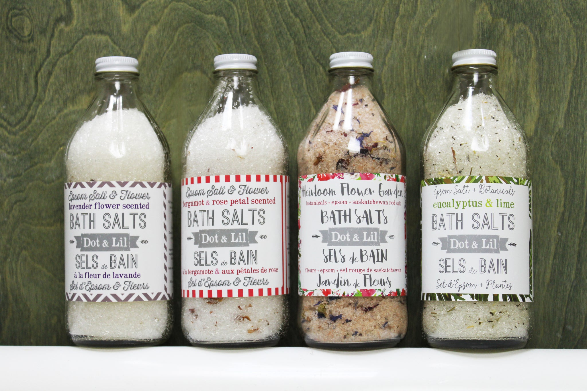 new handmade bath salt fall collection dot lil montreal
