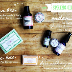 free gift with spring purchases