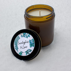 eucalyptus & lime candle limited edition|bougie eucalyptus & lime édition limitée