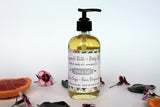 bergamot earl grey body bath oil