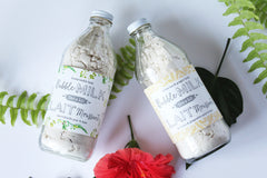 white tea & ginger bubble bath milk|lait bain moussant thé blanc & gingembre