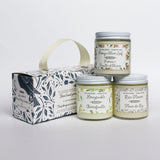 candle trio gift set|coffret trio bougie