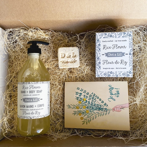 """Everything Will Be Okay"" gift set