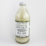 eucalyptus lime bath salt soak