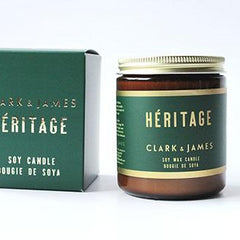 Clark & James Héritage candle|bougie Héritage Clark & James