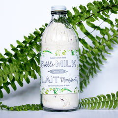 honeysuckle bubble bath milk|lait bain moussant chèvrefeuille