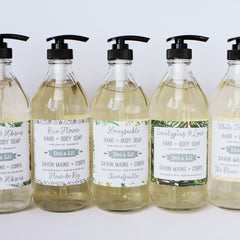white tea & ginger liquid soap|savon liquide thé blanc & gingembre