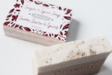 sugar & spice soap|savon sucre & épices