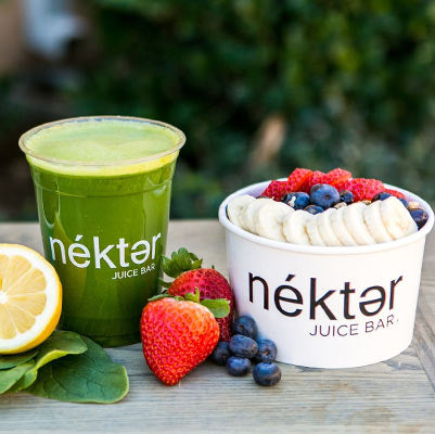 Nekter Acai Bowl and Green Juice