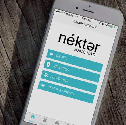 Nekter Rewards App