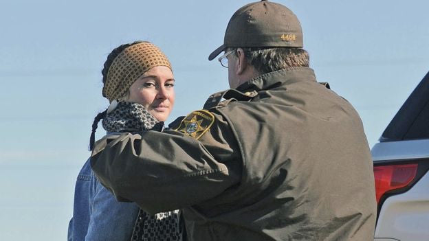 Shailene Woodley Was Arrested For Trespassing While Protesting the Dakota Access Pipeline