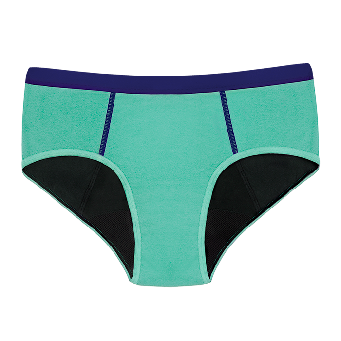 THINX BTWN Absorbent Underwear for Teens Shorty Panties for Girls