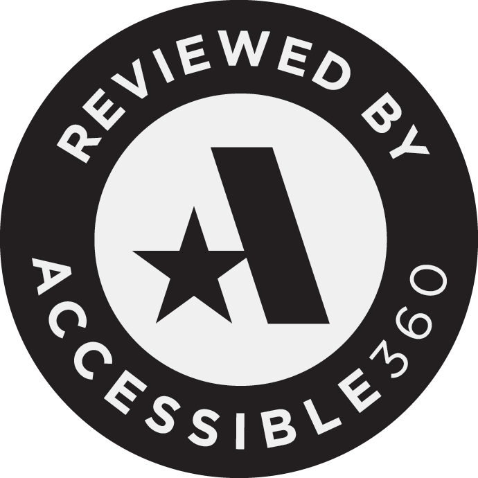 """Reviewed​ ​By​ ​Accessible360"