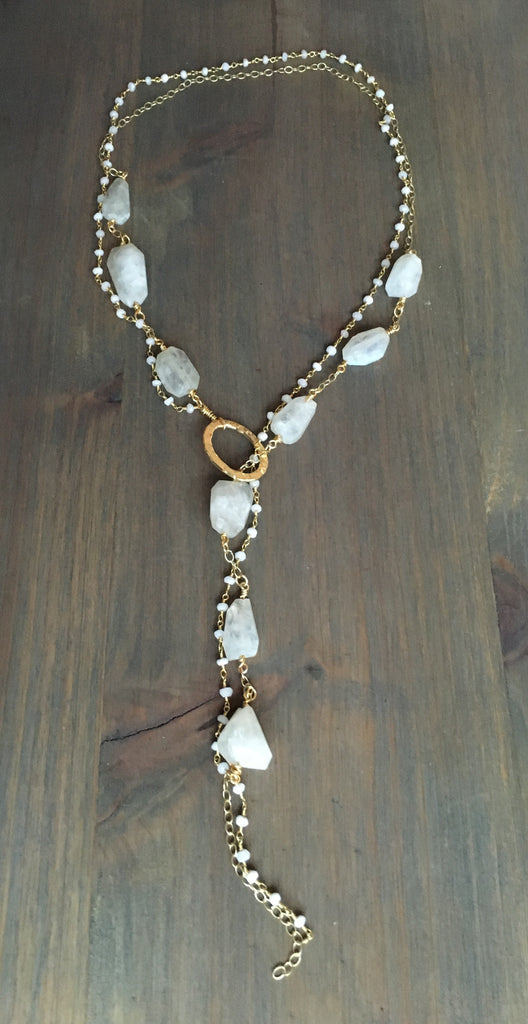 Chunky Lariat/Necklace Miranda