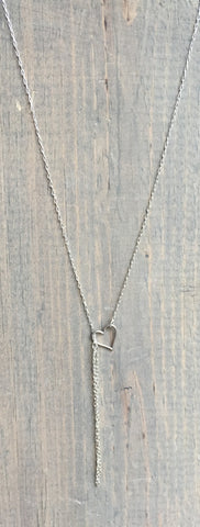 "Dainty Lariat Necklace 20-24"" Briony"