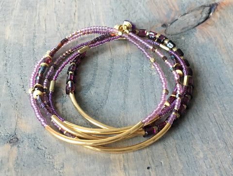 Wrap bracelet/Necklace 36-38""