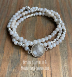 Beaded Mystic Wrap Bracelet & Necklace in one