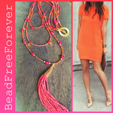 Multi strand Boho Necklace Luca