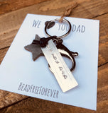 Key chain 'We🖤you dad'