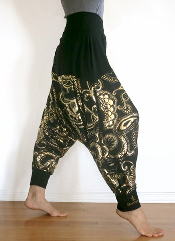 Deep Stretch 5Rhythms Harem Pants - Limited Edition
