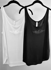 Do You Have The Discipline To Be A Free Spirit? Tank Top (Black & White Styles)