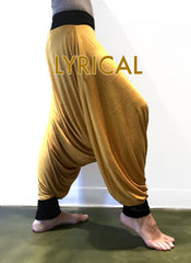 Deep Stretch 5Rhythms Harem Pants - Multicolored Edition