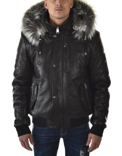 Victor | Silver Fox All Leather