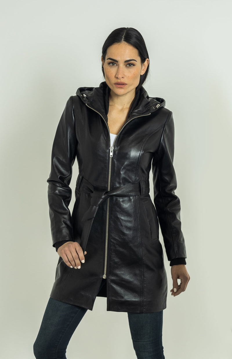 Krystal All Leather | Black