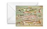 Northern Trout Greeting Cards