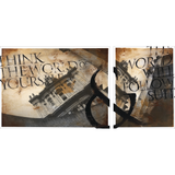 What You Think (Dyptych) - Original