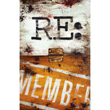 """Note To Self - Re:member"" Embellished Canvas"